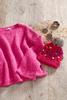 Pink Scoop Neck Sweater
