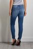 Double Frayed Hem Jeans