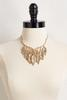 Gold Leaf Goddess Necklace