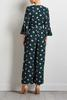 Bell Sleeve Floral Jumpsuit