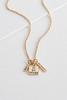 Do All Things Pendant Necklace
