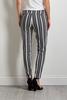 Gray Stripe Pull- On Pants