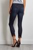 Lace Trim Skimmer Jeans
