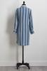 Striped Chambray Shirt Dress