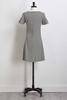 Dotted Jacquard Knit Dress