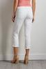 White Slimming Cropped Jeans