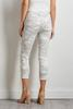 White Camo Skimmer Pants