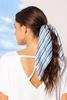 Striped Scarf Scrunchie
