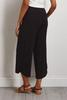 Cropped Ruched Hem Pants