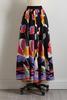 Tulip Tie Waist Maxi Skirt