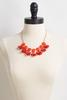 Faceted Oval Bib Necklace