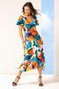 Bold Floral Dress
