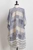 Checks And Stripes Kimono