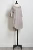 Convertible Stripe Shirt Dress