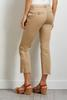 Kick Flare Belted Pants