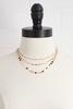 Layered Metal Disc Necklace