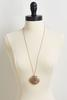 Metal Shell Pendant Necklace