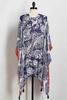 Tasseled Paisley Kimono