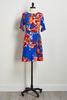 Floral Side Tie Dress