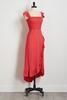 Ruffled Smocked Maxi Dress