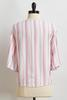 Knotted Pink Stripe Top