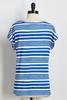 Mixed Direction Striped Tee