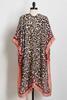 Blush Leopard Kimono