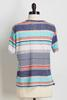 Hacci Mixed Stripe Top