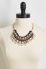 Pearl Deco Bib Necklace
