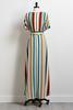 Line Your Business Maxi Dress