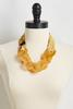 Lucite Link Scarf Necklace