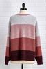 Smell The Roses Stripe Sweater