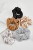 Metallic Scrunchie Set