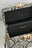 Snakeskin Box Bag
