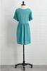 Teal A Kiss Dress