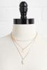 Layered Pearl Pendent Necklace