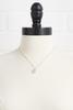 J Initial Pearl Necklace