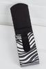 Silver Zebra Tissue Holder