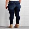 Recycled Curvy Dark Wash Skinny Jeans