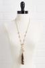 Animal Tassel Necklace