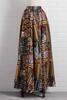 Around The Globe Maxi Skirt