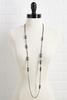 Crystal And Metal Necklace