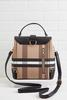 Plaid Backpack Wallet Set