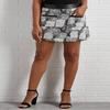 A Little Leather Hacci Skirt