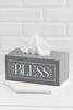 God Bless You Tissue Box
