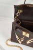 Micro Mini Croco Handbag