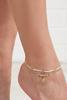 Golden Shell Anklet