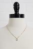 18k H Pendant Necklace