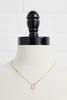 18k R Pendant Necklace