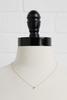 18k Tiny F Necklace